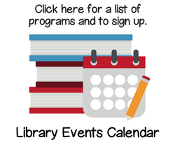 Library Calendar of Events and Event Signup
